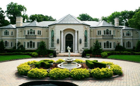 celebrity homes | Russell Simmons' Saddle River Super Mansion | Celebrity Houses and ...