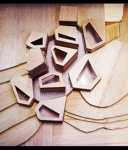 un:  Wood model of Perfume Museum ByDimitrie...