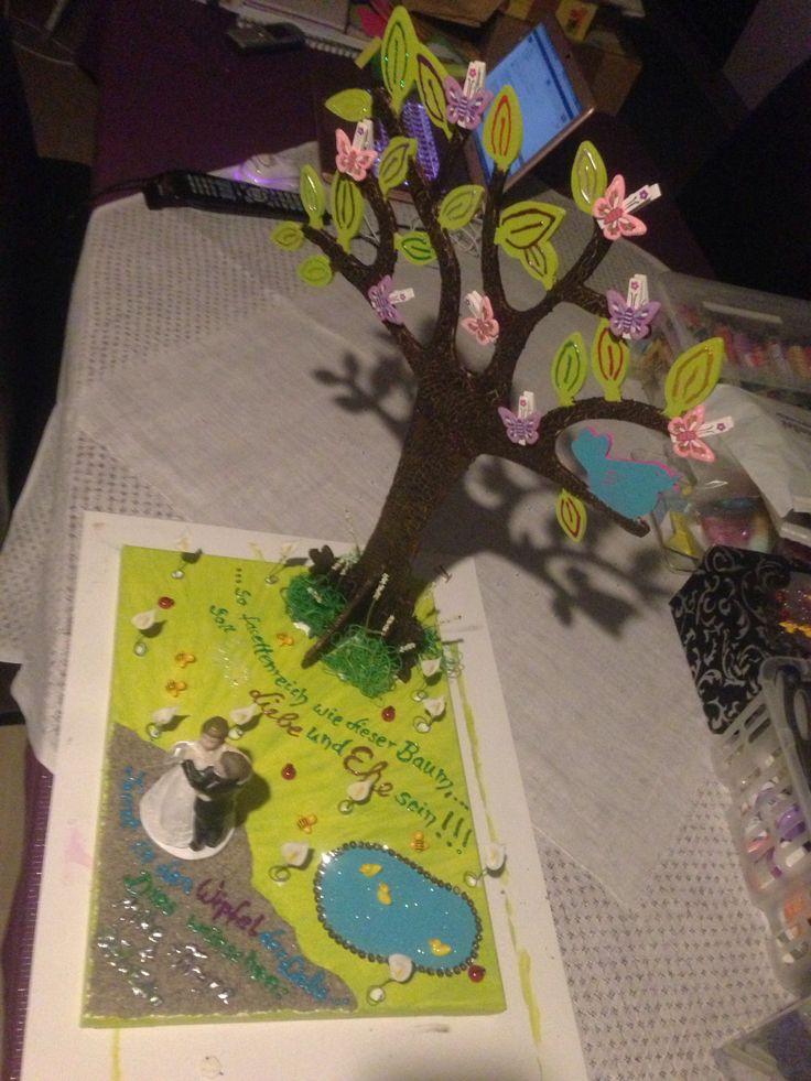 Luxurypimp Geldgeschenk Hochzeit Thema: Baum