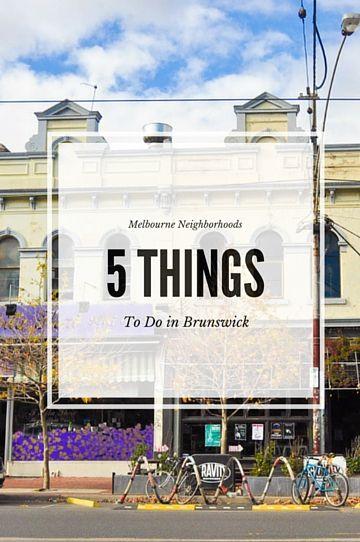 Hands down one of the coolest neighborhoods in Melbourne // www.hummingbirdaway.com
