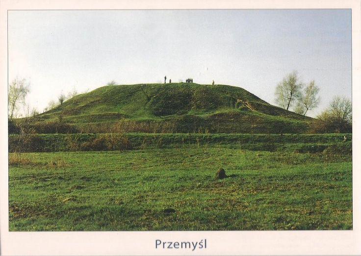 pocztówka PRZEMYŚL Kopiec Tatarski