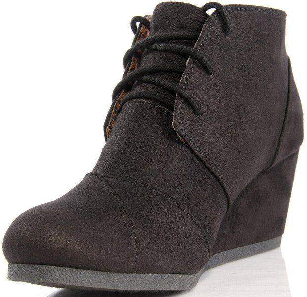 Marco Republic Galaxy Womens Wedge Boots - (Black) - 9