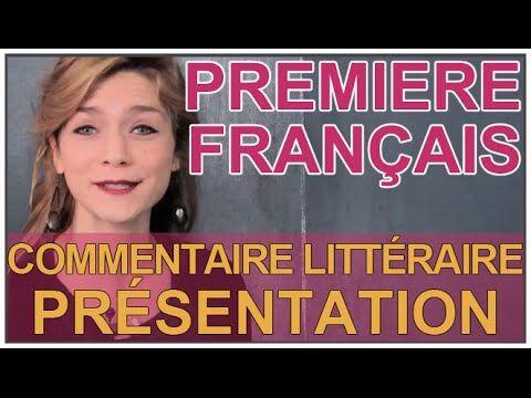 Le COMMENTAIRE LITTÉRAIRE : caractéristiques, axes, problématique, plan, analyses, rédaction... Commentaire littéraire - méthodologie (12 vidéos) - YouTube