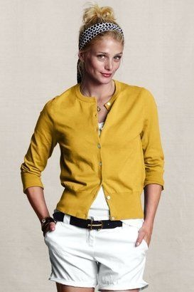 Get the First Lady's Colorful Look!: Cardigans, Style, Clothes, Color, Lands End, Cafe Cardigan, Women S Cafe, Land'S End, Canvases