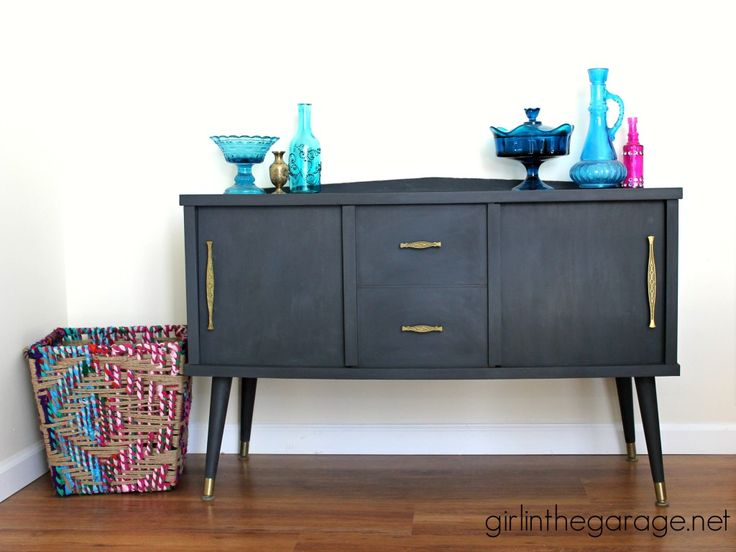 Midcentury Makeover With A Surprise. Furniture ProjectsDiy FurniturePainted  ...