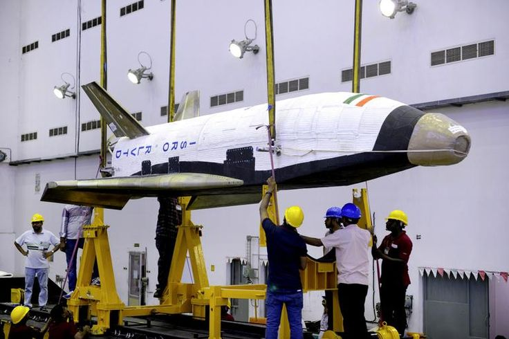 The Indian Space Research Organisation's shuttle will shoot up into the atmosphere before crashing back down into the sea. It is not expected to land in one piece.