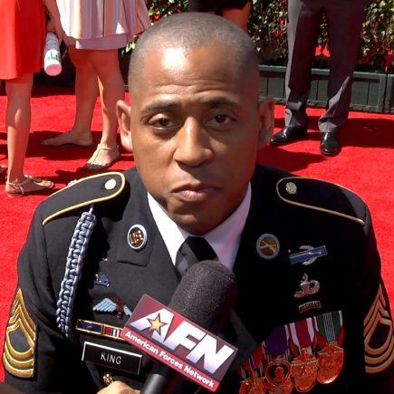 ESPY's Honor Wounded Warrior  Retired Master Sgt. Cedric King speaks with American Forces Network about what it means to be a challenged athlete.
