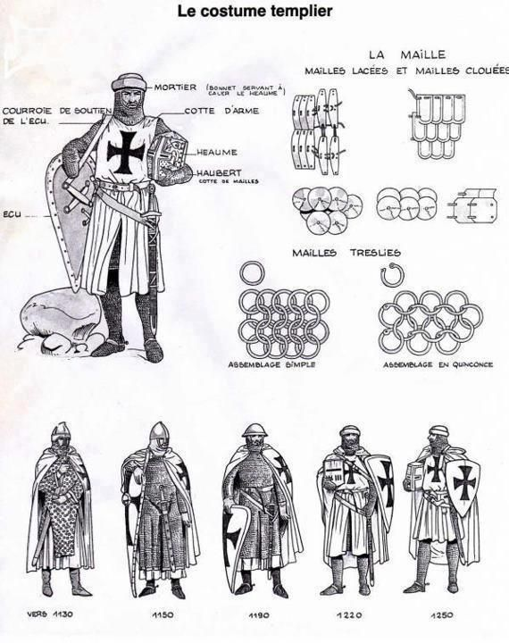 Knights Templar:  The #Knights #Templar costume.