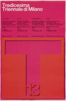 Manifesto Triennale 1964