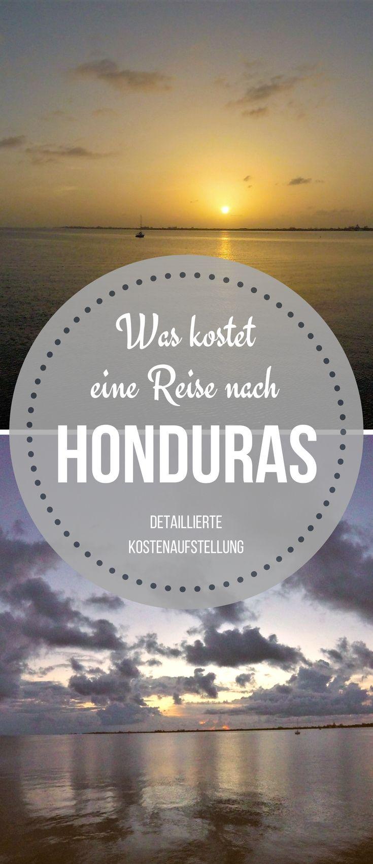 Was Kostet Eine Reise Unsere Kosten In Honduras Worldonabudget Zentralamerika Reisen Honduras Reisen