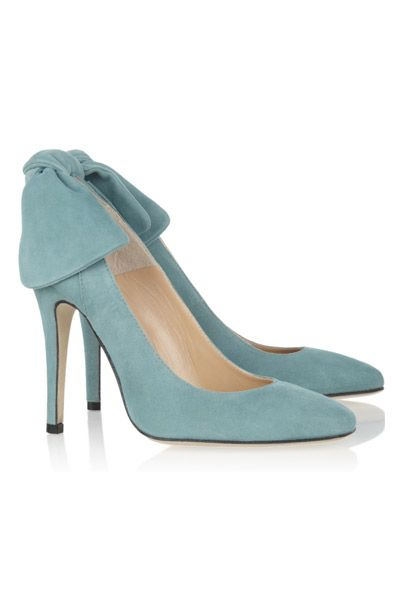 Zapatos con lazo en ante - TELVA