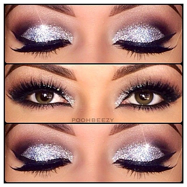 Sliver glitter eyeshadow