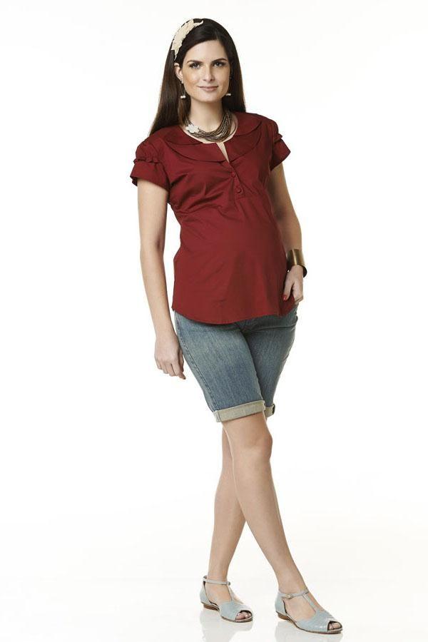 roupa linda de gravidas