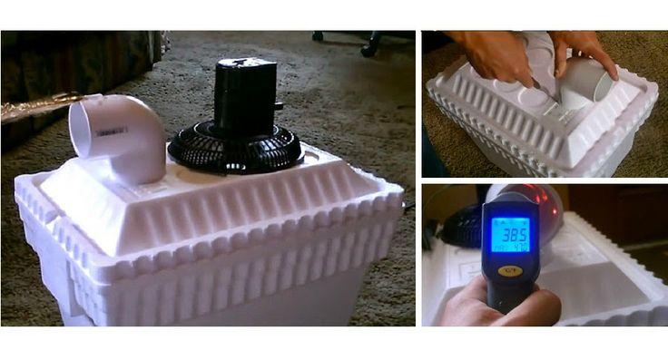 Cómo hacer un Enfriador de aire casero totalmente económico