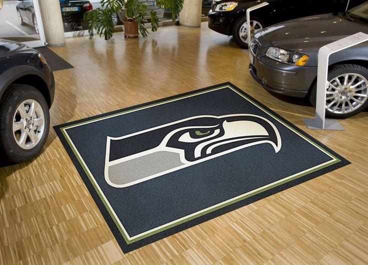 Buy Seattle Seahawks Logo Rug Online