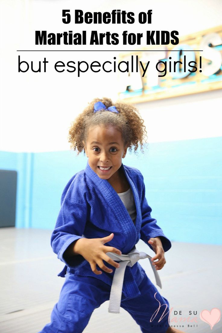 Martial Arts for Kids... Especially Girls!