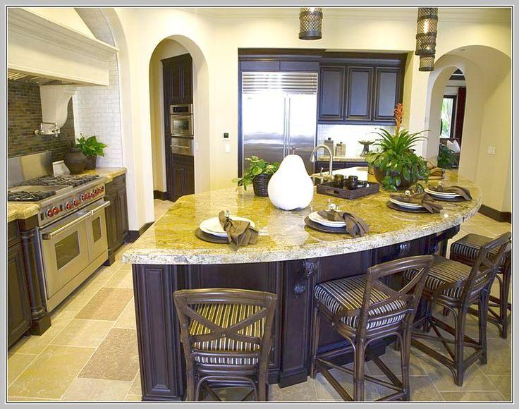 modern curved kitchen island. Modern Curved Kitchen Island Home Design Ideas