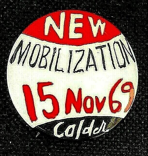 New Mobilization November 15 1969 Alexander Calder Anti Vietnam War Button Protest Pins Protest Buttons Alexander Calder