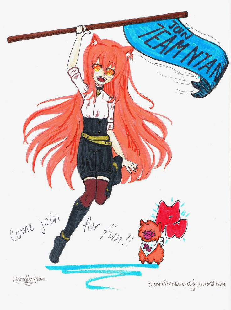 This is the scanned version. GO TEAM NYAN!!