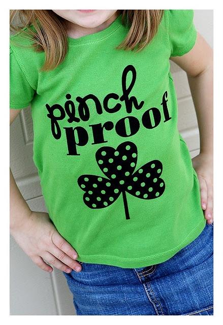 PINCH PROOF t-shirtKids Shirts, Silhouette Projects, Fashion Ideas, Heat Transfer, Pinch Proof, St Patricks Day, Diy Shirts, Silhouettes Projects, Patricks T Shirts
