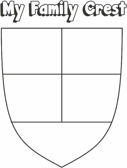 Make your own coat of arms template 28 images family for Make your own coat of arms template