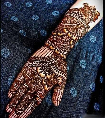 Bridal Mehndi Design On Hands