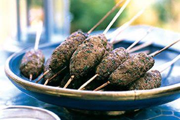 LEBANESE RECIPES: Beef kofta with saffron yoghurt recipe