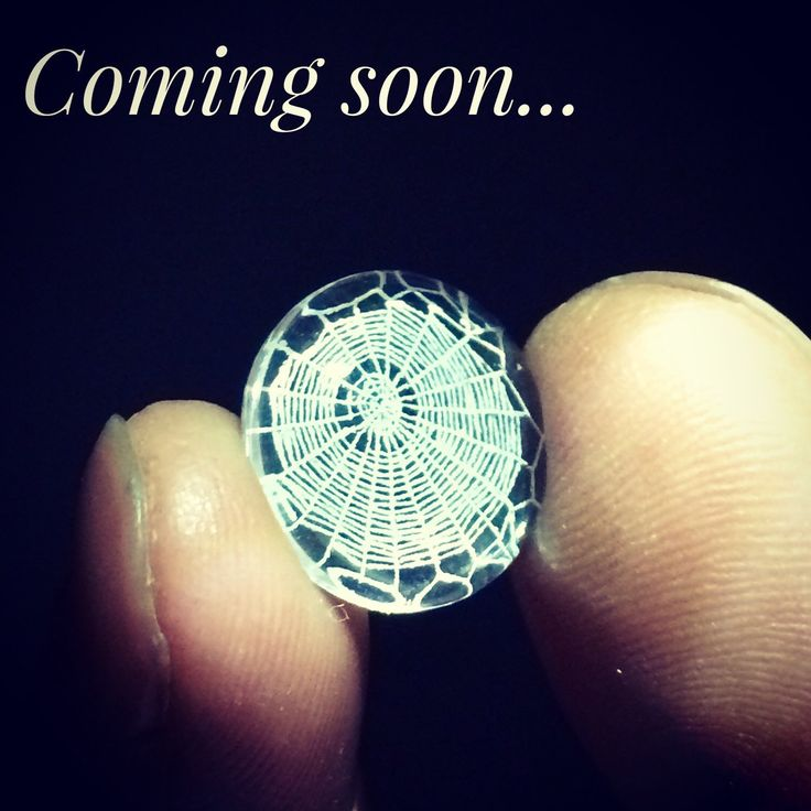 We're listing some new small spider web rings soon, keep posted for updates later this week! They're adorable!