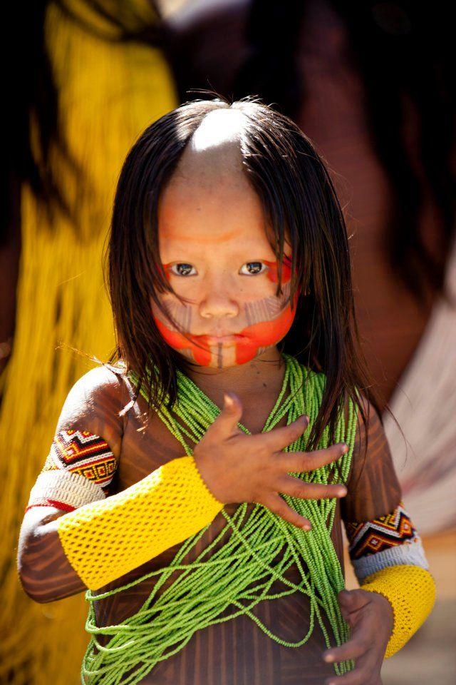 Pequeno cidadão brasileiro.