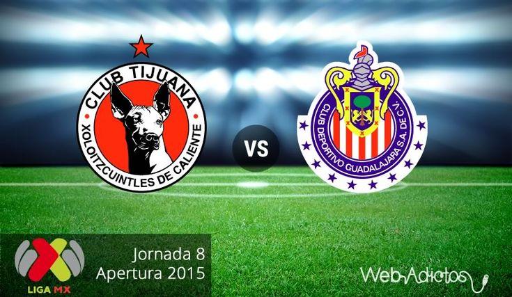 Xolos de Tijuana vs Chivas en el Apertura 2015 ¡En vivo por internet! - http://webadictos.com/2015/09/11/tijuana-vs-chivas-apertura-2015/?utm_source=PN&utm_medium=Pinterest&utm_campaign=PN%2Bposts