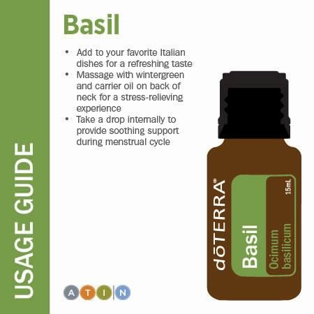 doTerra Basil Essential Oil Usage Guide