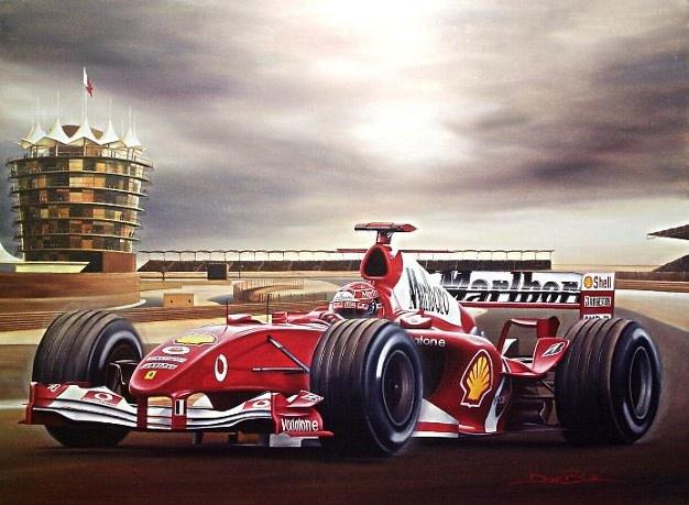 Michael Schumacher Ferrari F1 Bahrain Grand Prix