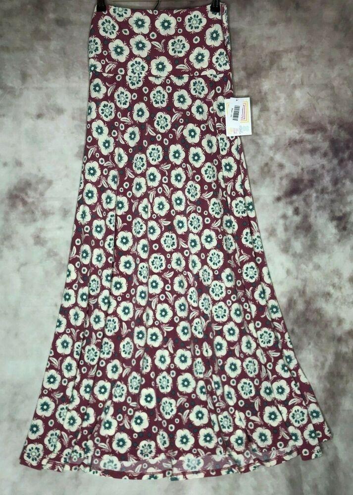4ced7493329b New Lularoe XS Maxi Skirt Floral Print #LuLaRoe #MaxiSkirt | eBay in ...