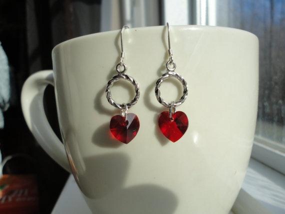 Pretty Valentine Earrings!