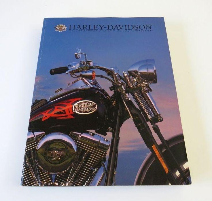 2005 Harley Davidson Genuine Motor Accessories & Parts Catalog HARLEY-DAVIDSON