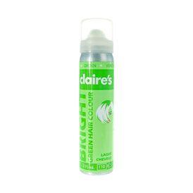 bombe colore pour cheveux vert vif - Spray Colorant Pour Cheveux