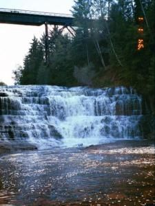 Someday, I'd like to explore all the waterfalls around Lake Superior.