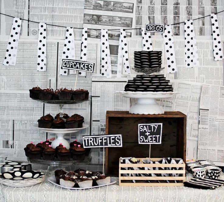 Casa Montada: Festa: 20 Backgrounds para a Mesa do Bolo