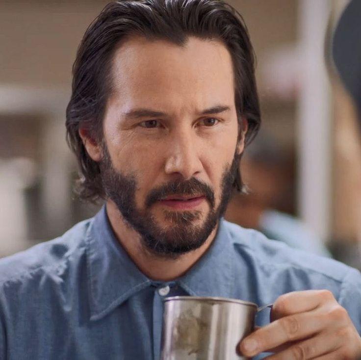 Keanu Reeves as Tex in Swedish Dicks Season 2