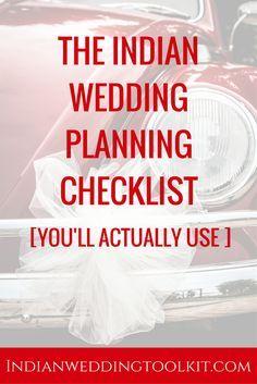 indian wedding planner book