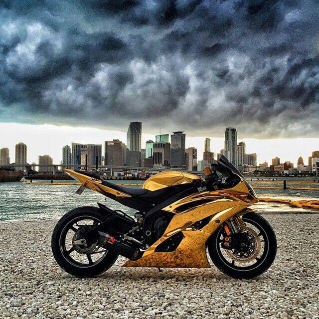 Gold bikes