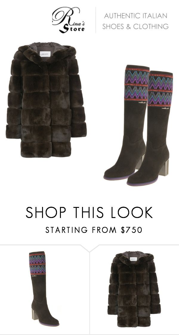 """New Fall/Winter Collection - Marino Fabiani Boots"" by rinasboutiquee ❤ liked on Polyvore featuring Yves Salomon"