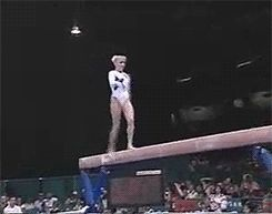 Never gets old<3 (gif of Shannon Miller)