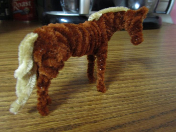 Horse Crafts | Pipe Cleaner Horse Tutorial 9 by ~SaddlePotato on deviantART