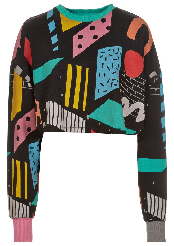 Blocks Sweatshirt Lazy Oaf. want want want it sooo bad!! http://spotpopfashion.com/nov1