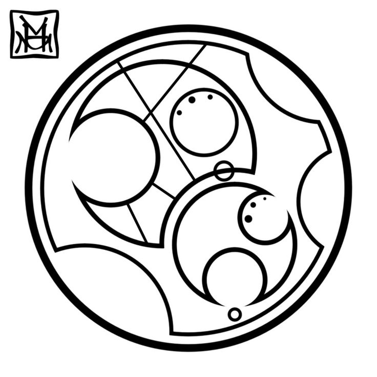 Bad Wolf in Gallifreyan!