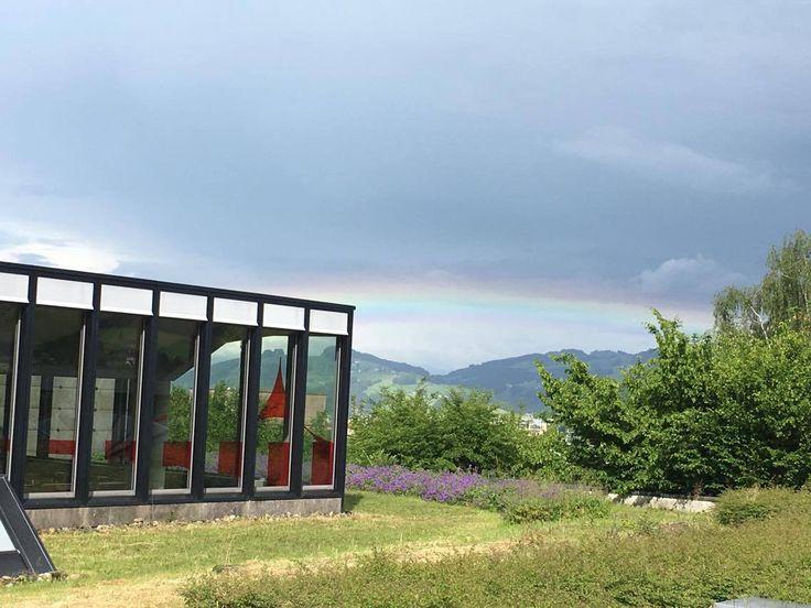 #Rainbow over St.Gallen. Copyright: Phuntsho Wangchuk.  #Regenbogen über St.Gallen