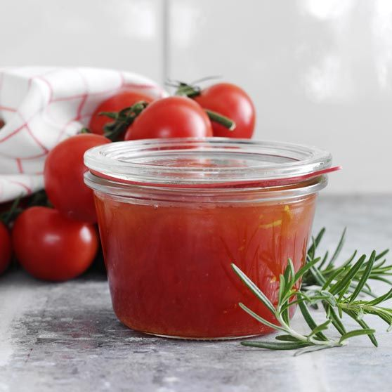 Organic tomato jam