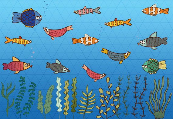 Fishes Clipart, Fishes Instant Download, Cute Clipart, Under Sea clipart, Sea Animals, Ocean clipart, Aquatic plants, Clownfish, Water World  29 high quality PNG files (fishes, aquatic plants and additional bubbles). Background is not included!  Perfect for invitation design (birthday, party, etc), stickers, scrapbooking, cardmaking, announcement cards, blogs, digital stamps, greeting cards, web design, decorations or anything! ≈≈≈≈≈≈≈≈≈≈≈≈≈≈≈ WHAT YOU GET: ≈≈≈≈≈≈≈≈≈≈≈≈≈≈≈  • 29 cliparts in…