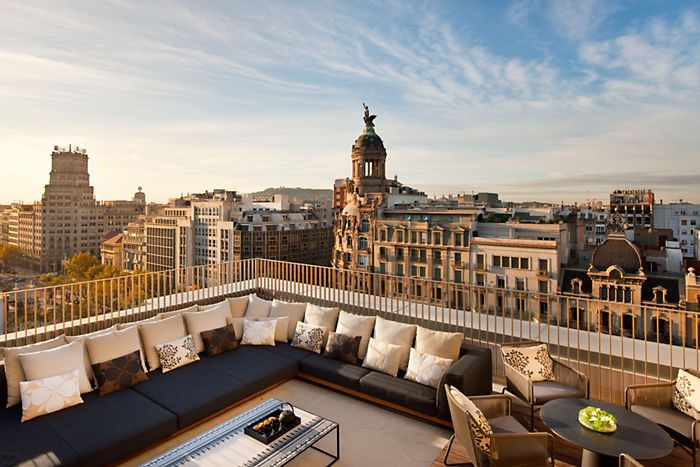 barcelona-suite-penthouse-suite-terrace-views-1 (700×467)  pillows, outdoor furniture, seating, view